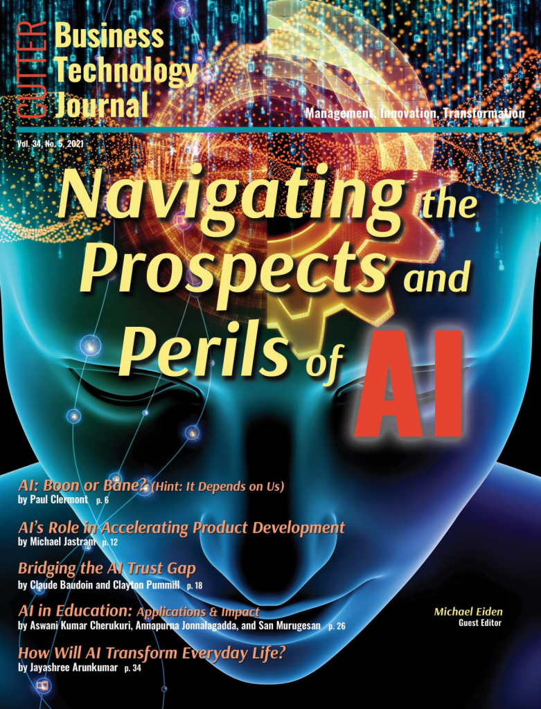 Cover Page: Navigating the Propsects and  Perils of AI